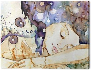 Canvas Print marzenia senne