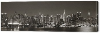 Canvas Print Midtown Manhattan skyline