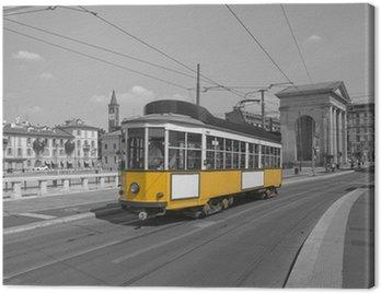 milano con tram