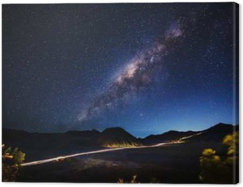 Milky way across Mt.Bromo,East Java,Indonesia