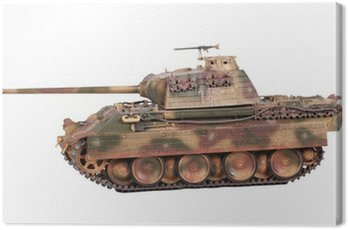 Model of Panther tank isoleted