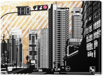 modern tropical city