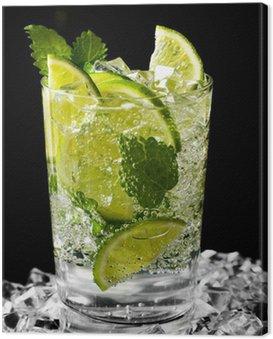 Canvas Print mojito cocktail