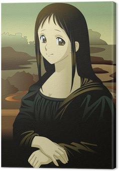 Mona Lisa anime manga style