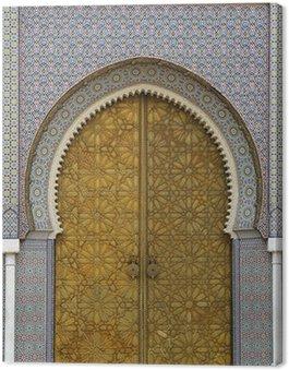 Canvas Print moroccan entrance (3)