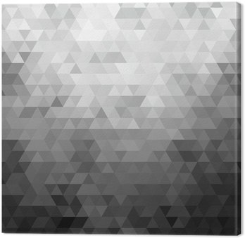 Mosaic background Canvas Print