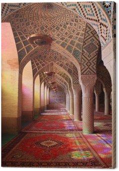 Canvas Print Mosquée Nasir-ol-Molk, Shiraz, Iran