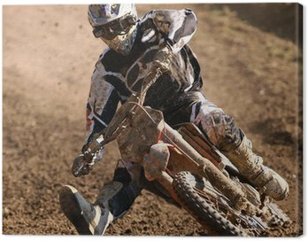 Canvas Print Motocross
