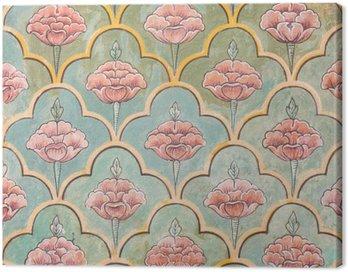 Mughal wall paintings at Jaipur city palace