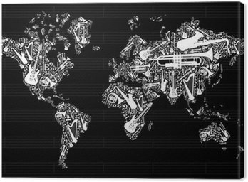 Music World Map