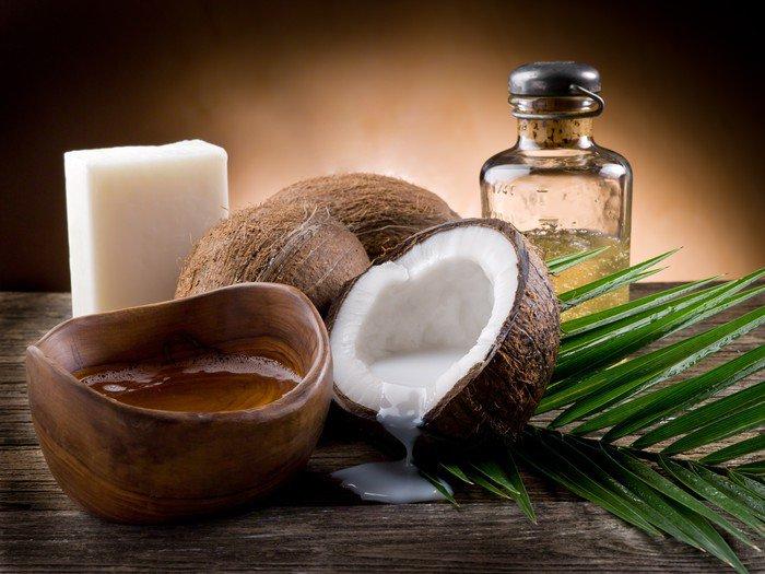 natural coconut walnut oil and soap Canvas Print - Destinations