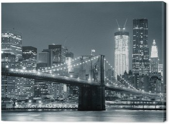 New York City Brooklyn Bridge Canvas Print