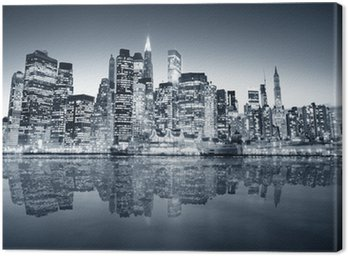 Canvas Print New York manhattan