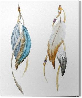 Canvas Print Nice feather