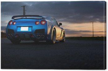 Canvas Print Nissan GTR