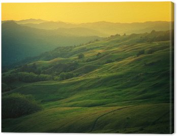 Canvas Print Northern California Landscape