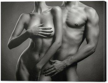 Nude sensual couple