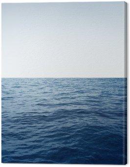 Canvas Print Ocean background