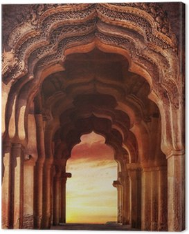 Old temple in India Canvas Print