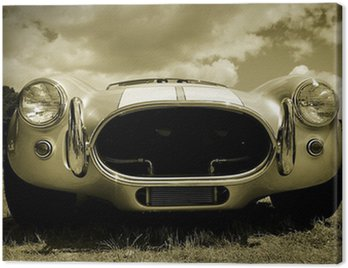 Canvas Print Old Timer