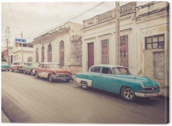 Oldtimer an der Straße | Kuba