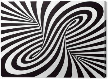 Canvas Print Optical Art
