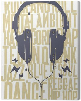 Painted Headphones