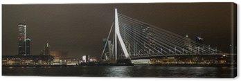 Panorama Erasmusbrug-Rotterdam Zuid Canvas Print