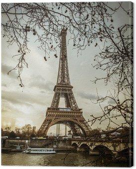 Parigi Tour Eiffel Tramonto
