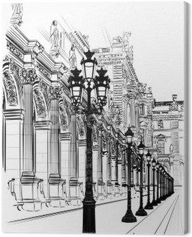 Canvas Print Paris: Classical architecture