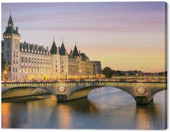 Canvas Print Paris, Conciergerie