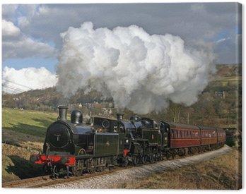 Canvas Print Pennine Steam