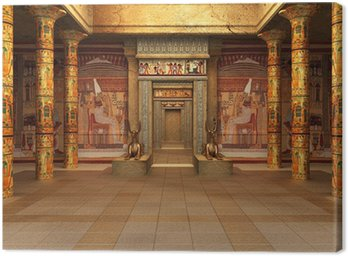 Canvas Print Pharaoh's Tomb