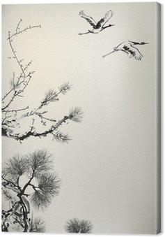 pine tree Canvas Print