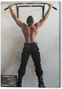 Pompier en musculation