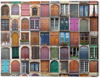 porte e finestre collage