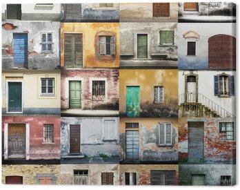 portoni e finestre collage