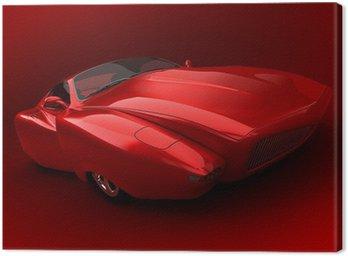 Canvas Print prototype car