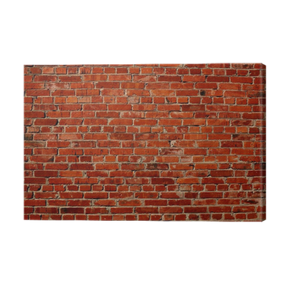 Red brick wall Canvas Print • Pixers® • We live to change