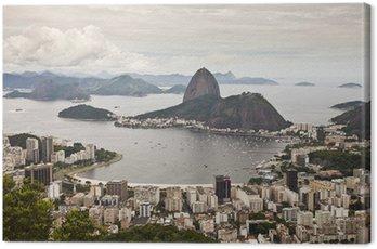 Canvas Print Rio de Janeiro panorama