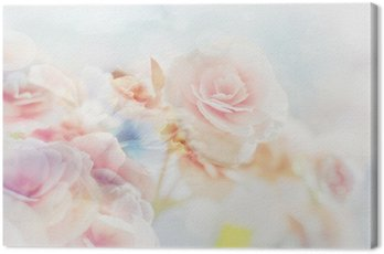 Romantic Roses in vintage style