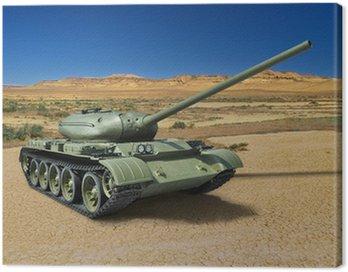 Russian Soviet medium tank T-54 of 1946