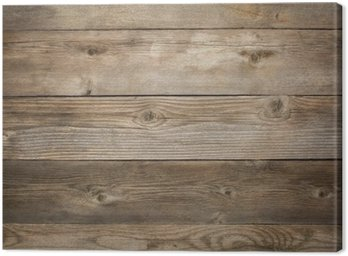 Canvas Print rustic weathered wood background