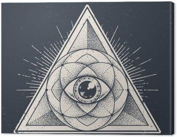 Canvas Print Sacred Geometry