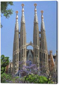 Canvas Print Sagrada Familia. Barcelona, Spain.