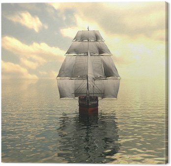 Canvas Print Sailing vessel