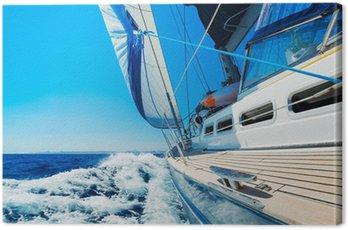 Canvas Print Sailing