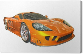 Canvas Print saleen sports car