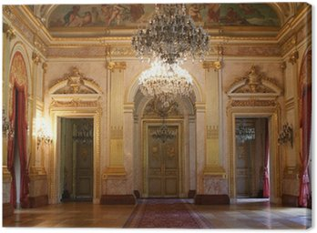 Canvas Print Salle des Fêtes, Palais Bourbon, Paris, France +