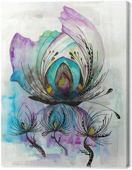 Schmetterlingseffekt light Canvas Print